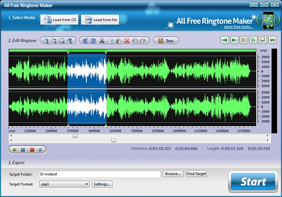 all free ringtone maker