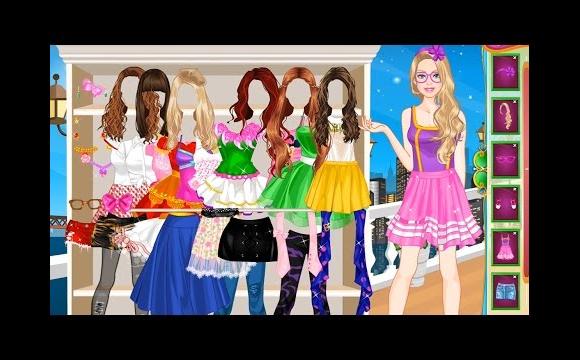 barbie summer dresses game