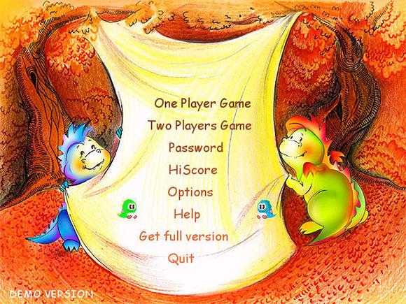 bubble bobble nostalgie game