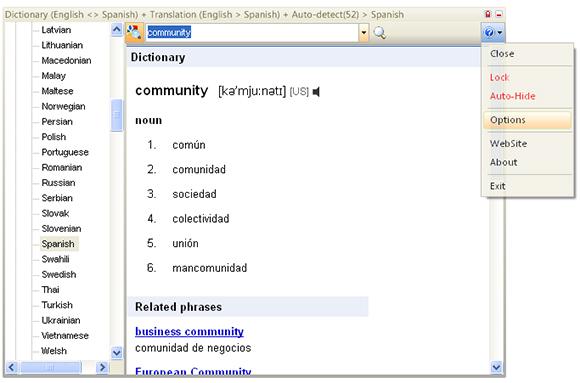 dictionary net