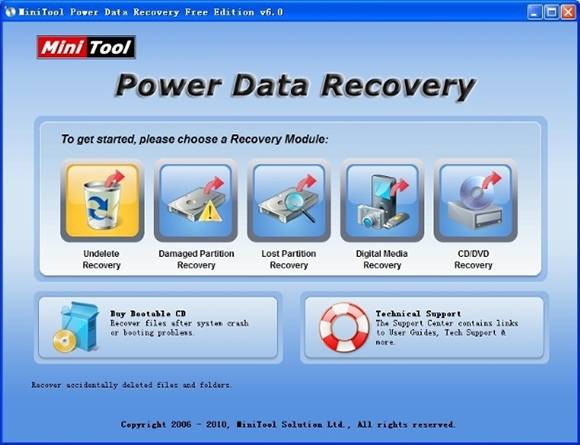 mini tool power data recovery software
