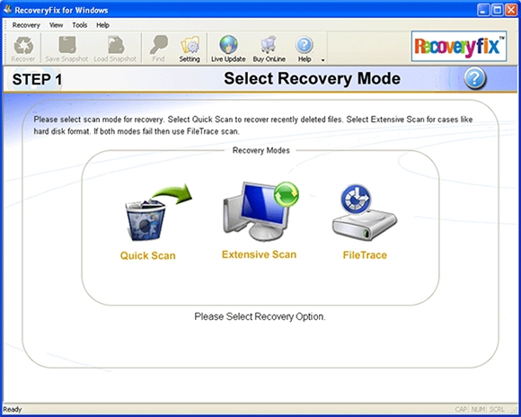 recovery fix software