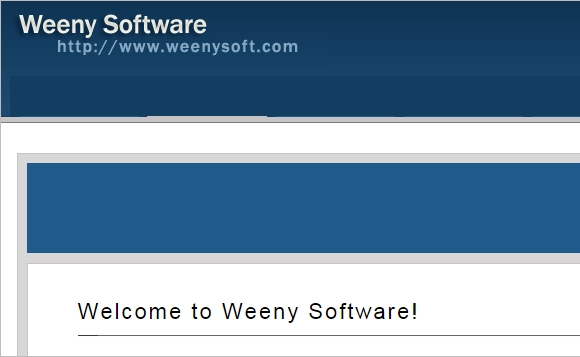 weeny software1