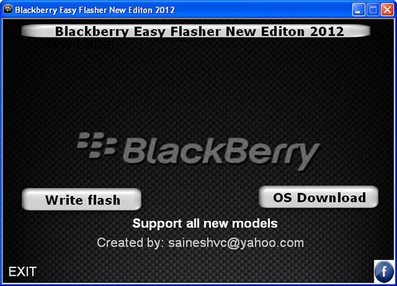 blackberry easy flasher