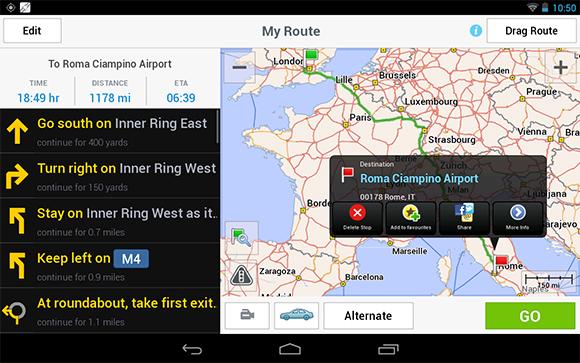 copilot gps navigation app