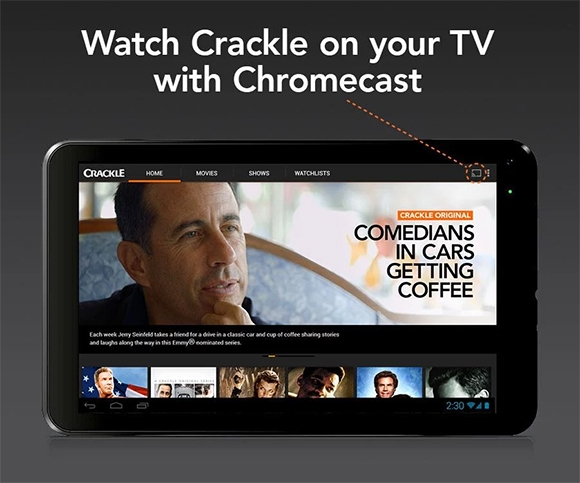 crackle movies tv