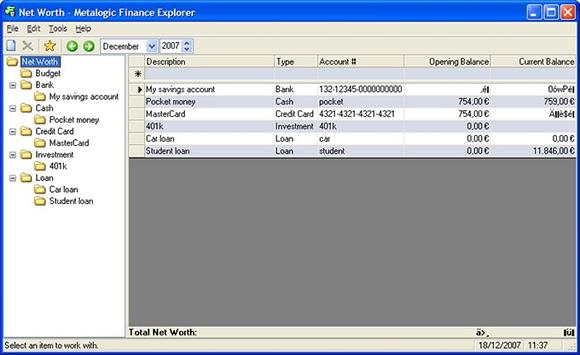 finance explorer