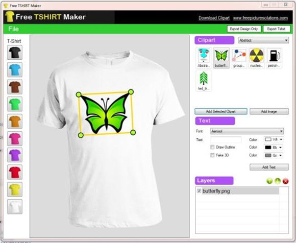 10 best t shirt design software download downloadcloud for Make photo t shirt online