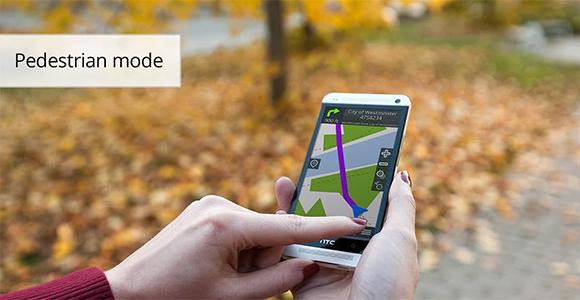 gps navigation be on road