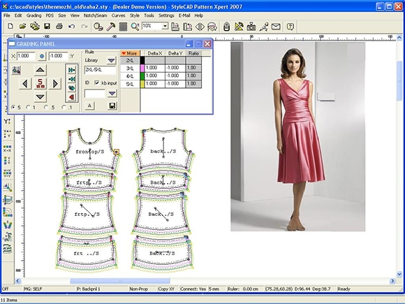 pattern making fashion designing and sewing software