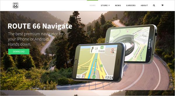 route 66 navigate