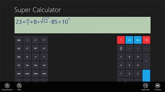 super calculator for windows 8