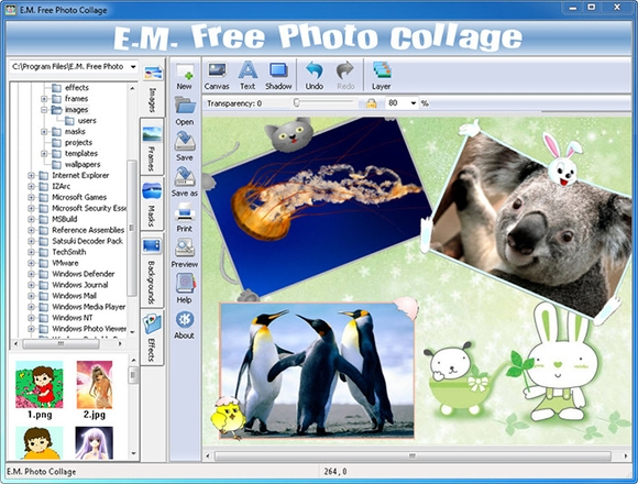 7 best photo collage software download downloadcloud for Collage maker templates free download