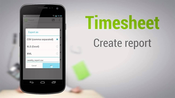 timesheet work time tracker