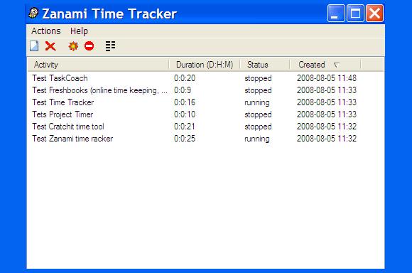 zanami time tracker