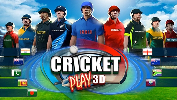 cricket play 3d live the game