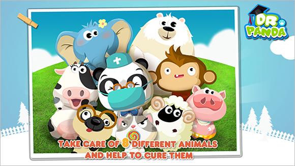 dr pandas hospital vet game2
