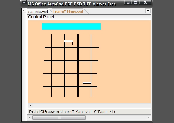 ms office autocad pdf psd tiff viewer free