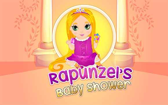 rapunzel baby shower