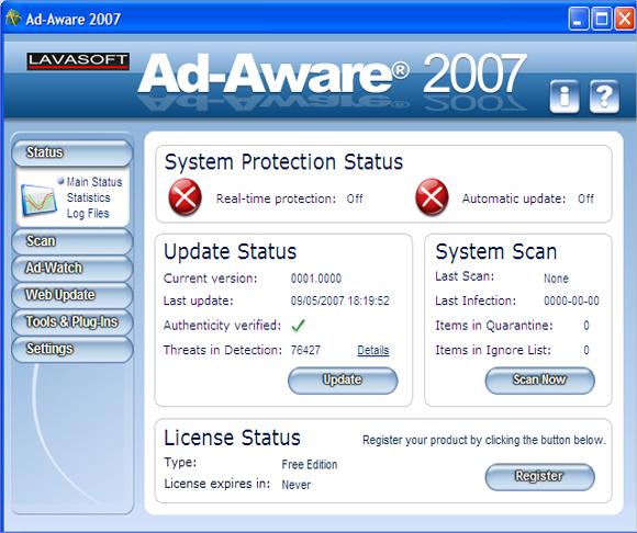 lavasoft adware remover
