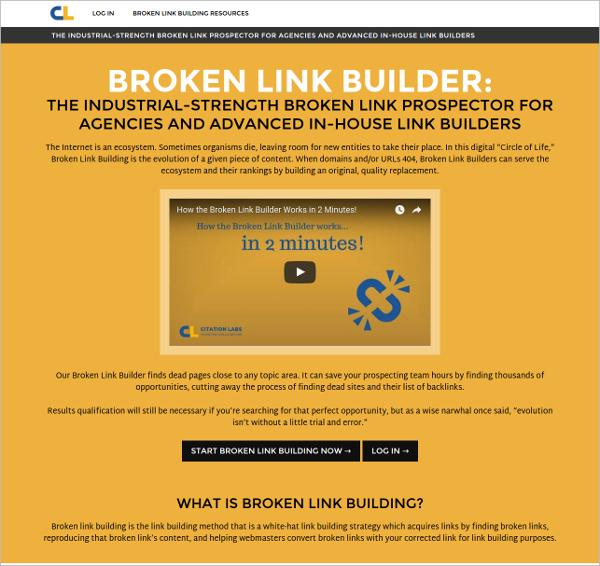 broken link builders