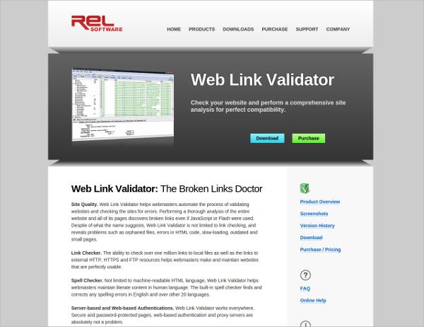 web link validator 4