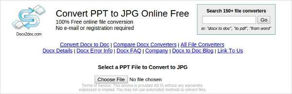convert ppt to jpg online free