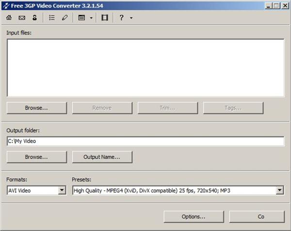 free 3gp video converter v5