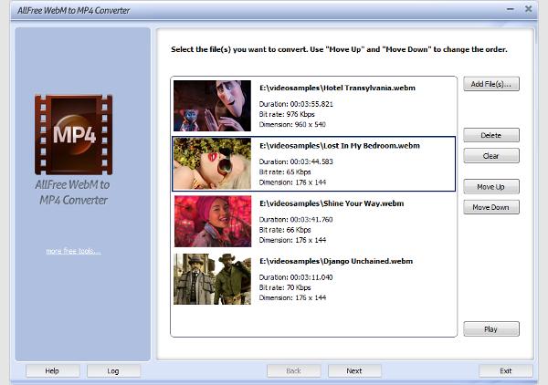 free webm to mp4 converter 1