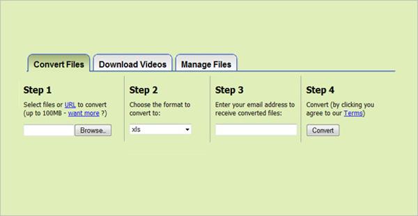 zamzar online application