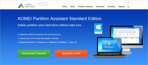 aomei partition assistant standard 1