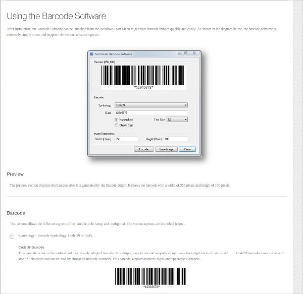 aeromium barcode software