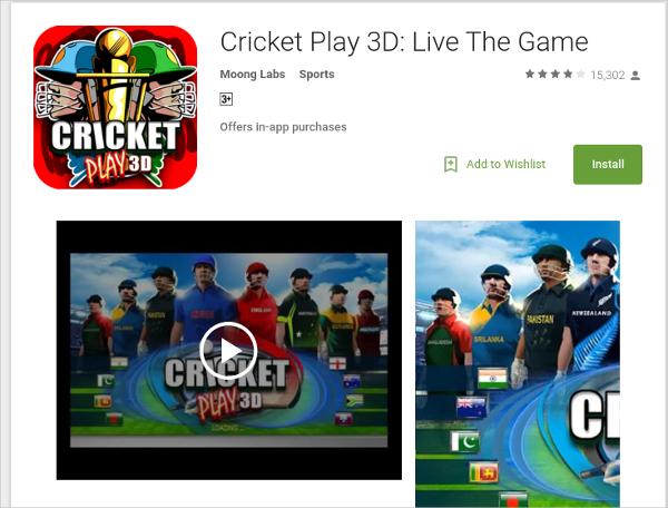 cricketplay 3d