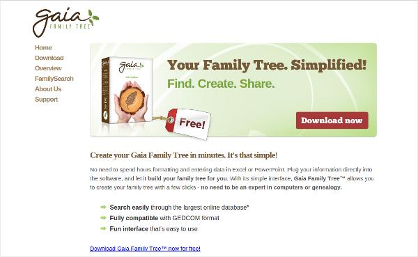gaia family tree