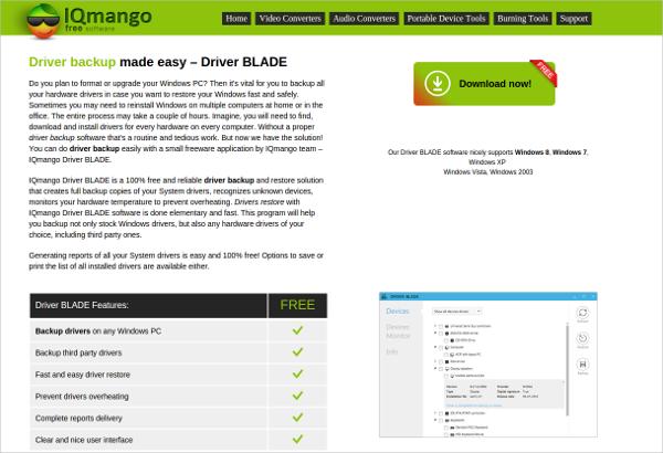 iqmango driver blade