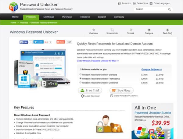 password unlocker