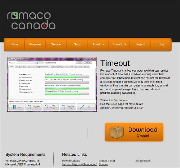 romaco timeout