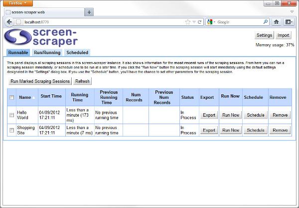 screen scapper