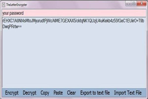 the letter encrypter