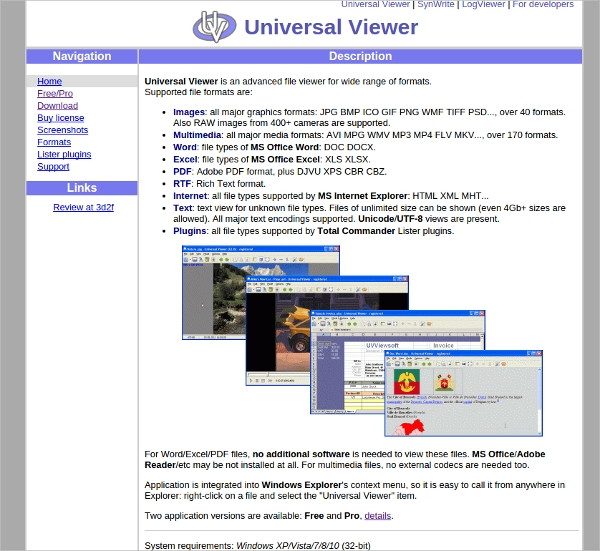 universal viewer 1