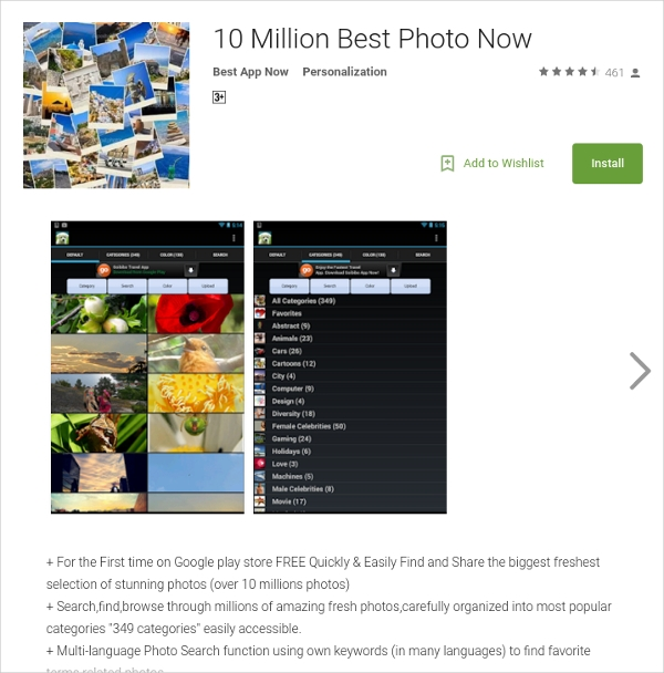 10 million best photo now by best app now