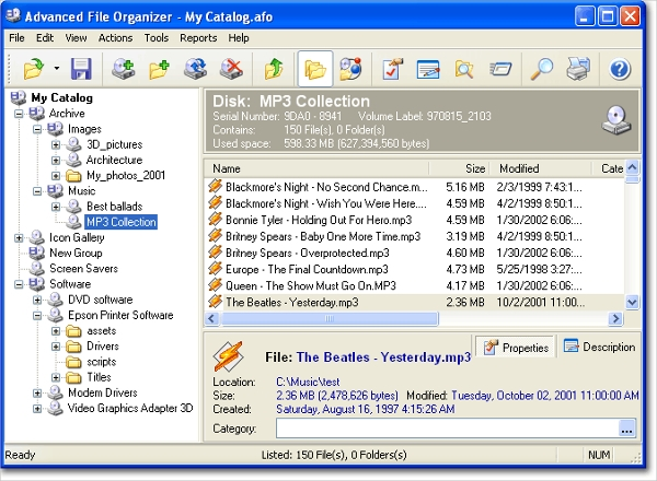 advanced file organizer