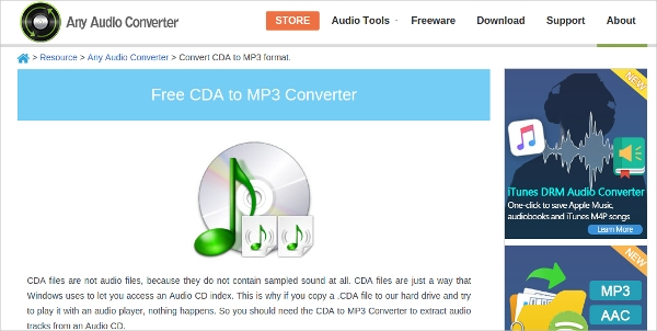 cda files to mp3