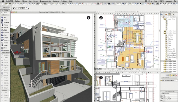 Architecture software 3d 2d forengineers builders for 2d architectural drawing software free