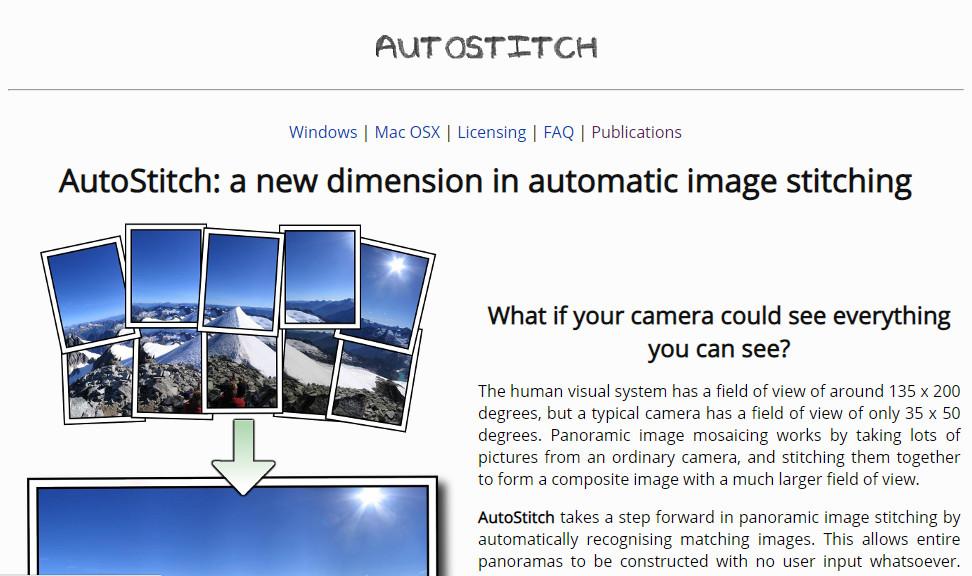 autostitch