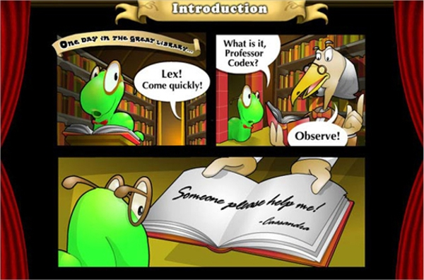 bookworm adventures – think and learn new vocabulary