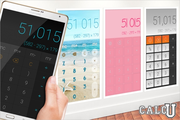 calcu stylish calculator free