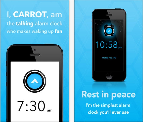 carrot alarm clock