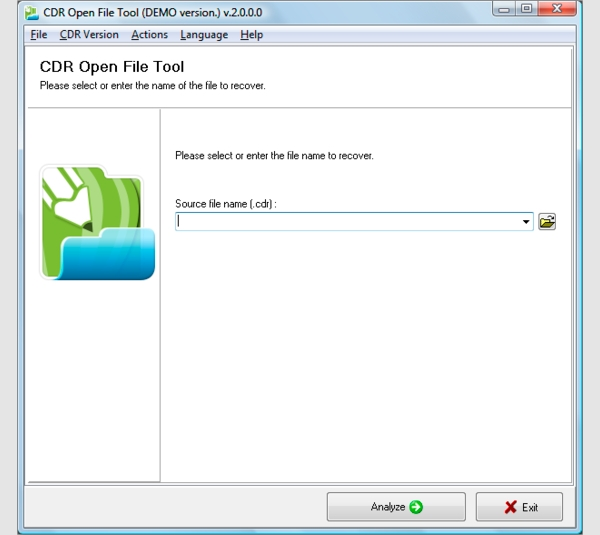 cdr open file tool1