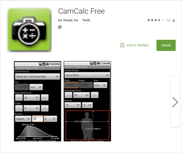 camcalc free